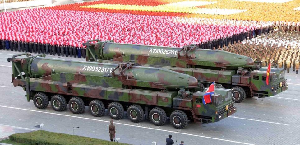 Missiles Corée du Nord