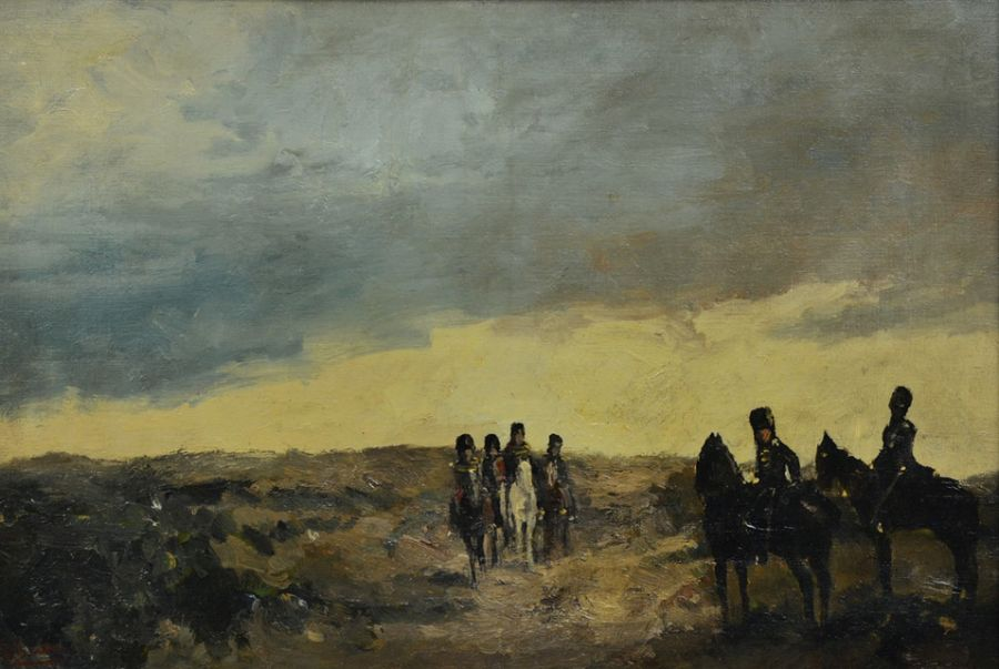 retour de George Hendrik Breitner